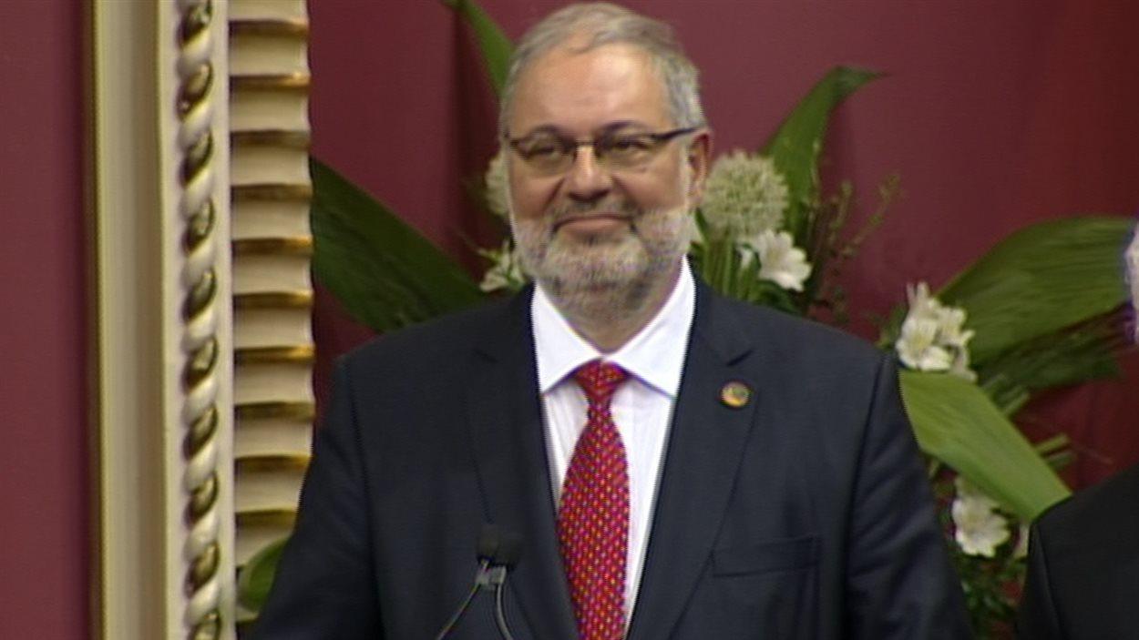Pierre Arcand, ministre de l'Énergie, des Ressources naturelles, du Plan Nord