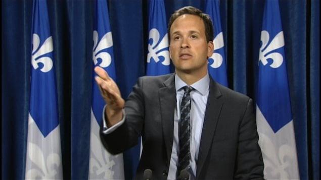 Le député péquiste Alexandre Cloutier