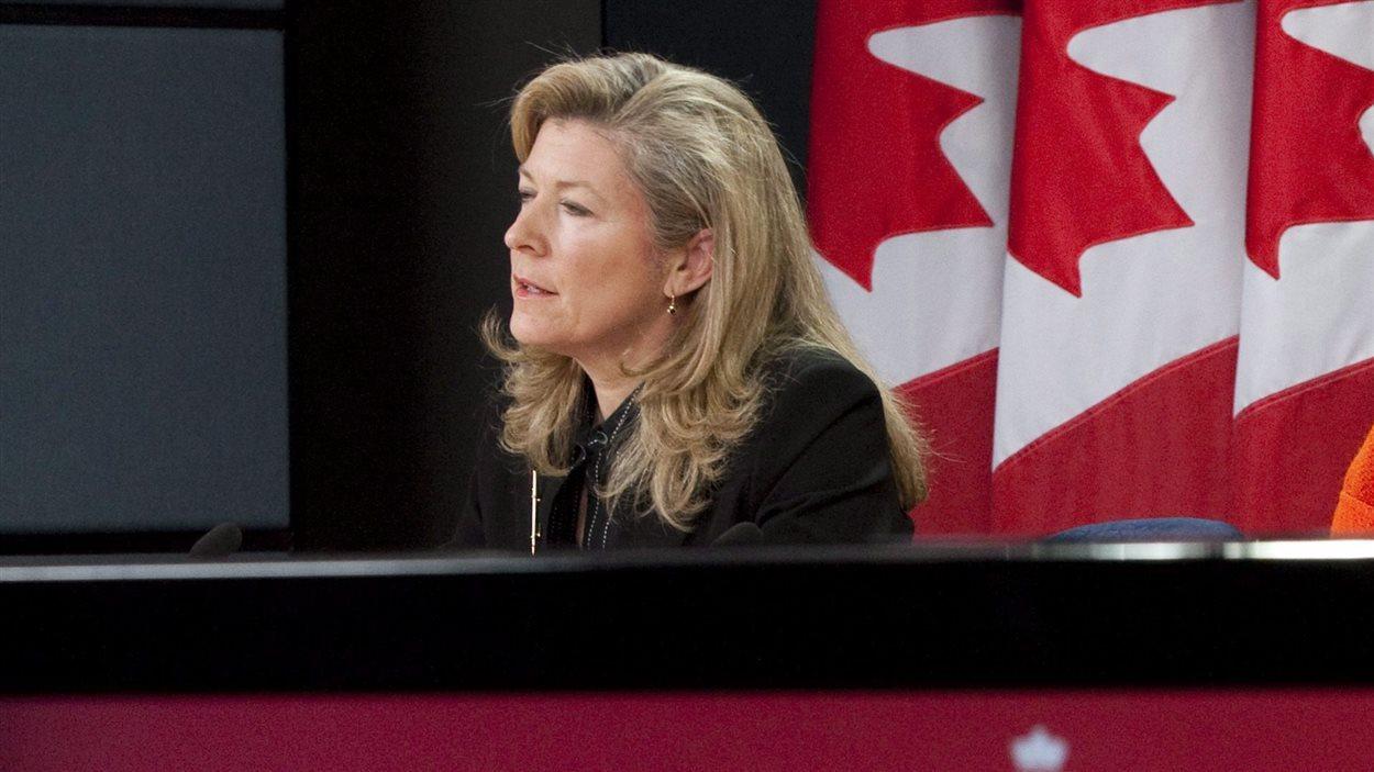 La commissaire par intérim du Commissariat à la protection de la vie privée du Canada, Chantal Bernier.