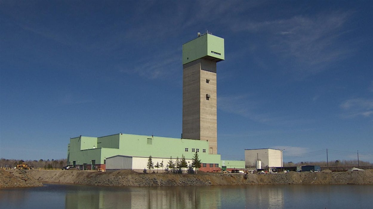 La mine Lockerby de la compagnie First Nickel à Sudbury