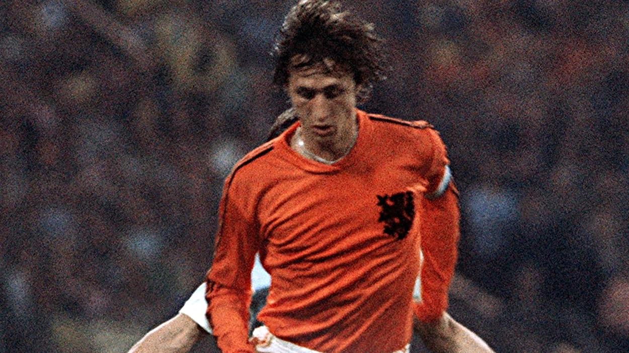 Johan Cruyff en grande finale, le 7 juillet 1974 à Munich