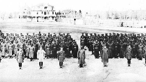 Deuxième bataillon de construction, Corps expéditionnaire canadien (CEC), 1917