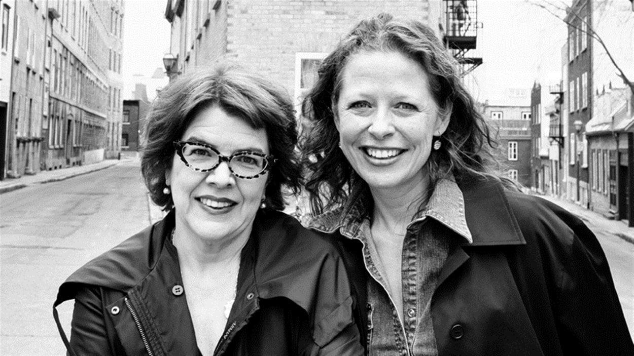 Chrystine Brouillet et Marie-Ève Sévigny