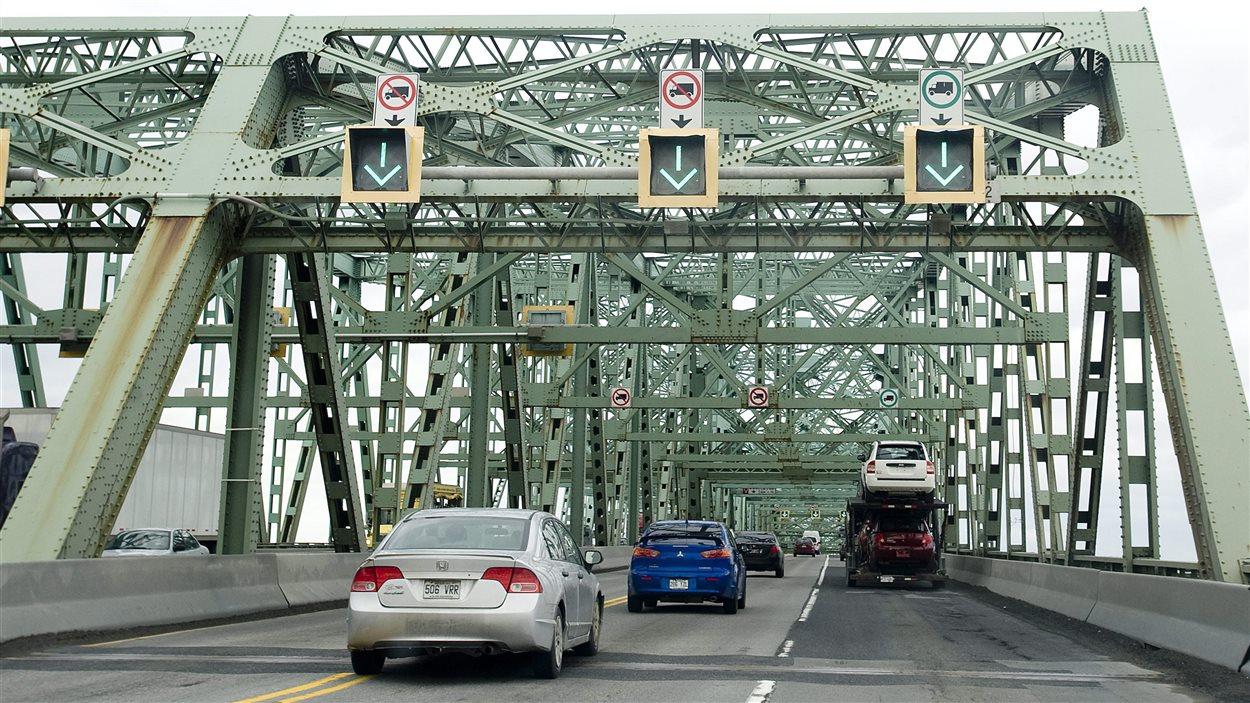 Cierculation sur le pont Champlain