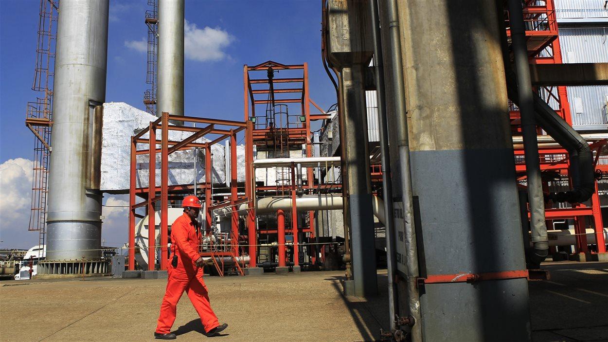 Une installation pétrolière à Tula, au nord de la ville de Mexico