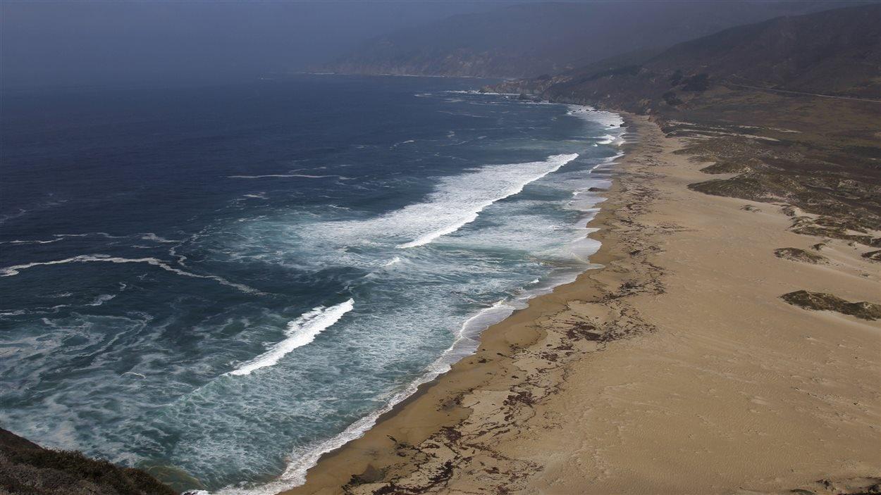 Vue de l'océan pacifique