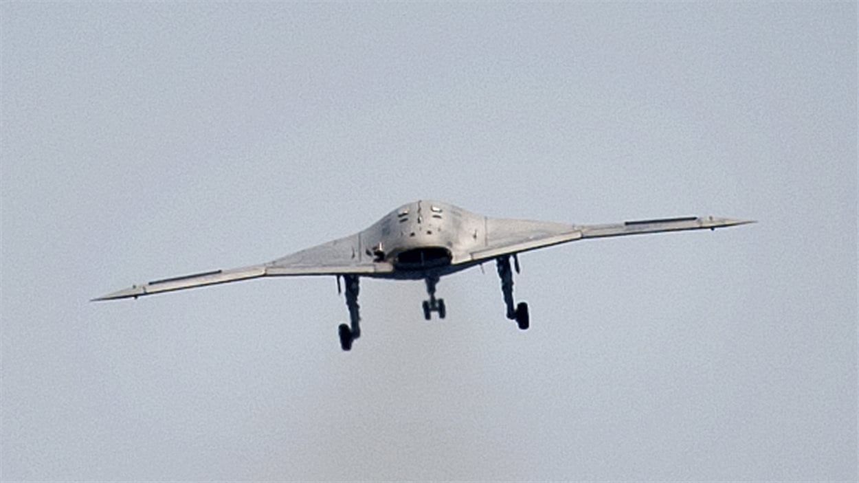 Drone de combat de l'armée américaine