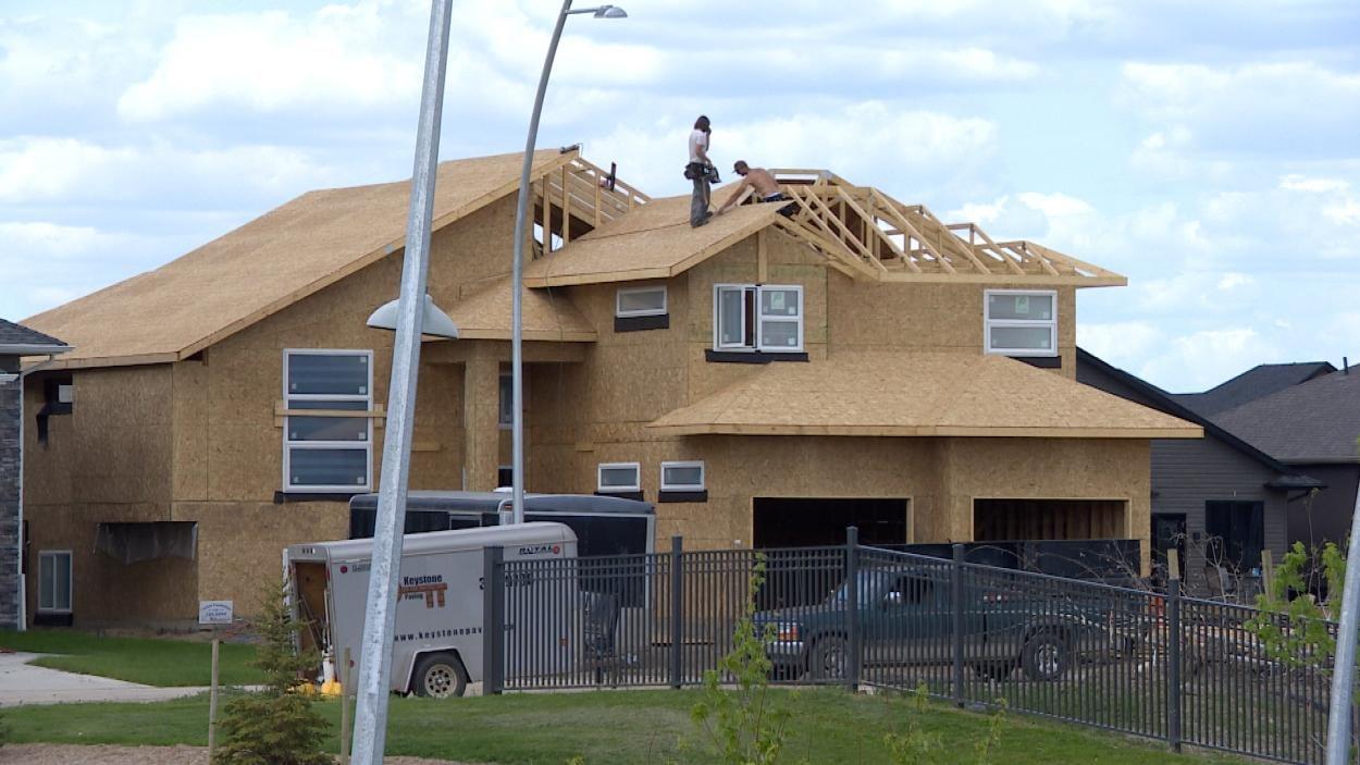 Maison en construction à Saskatoon