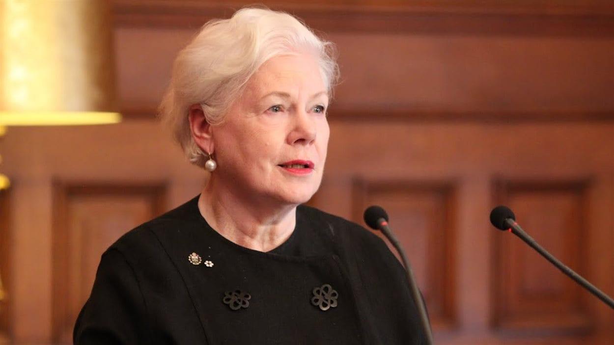 La lieutenante-gouverneure désignée de l'Ontario, Elizabeth Dowdeswell