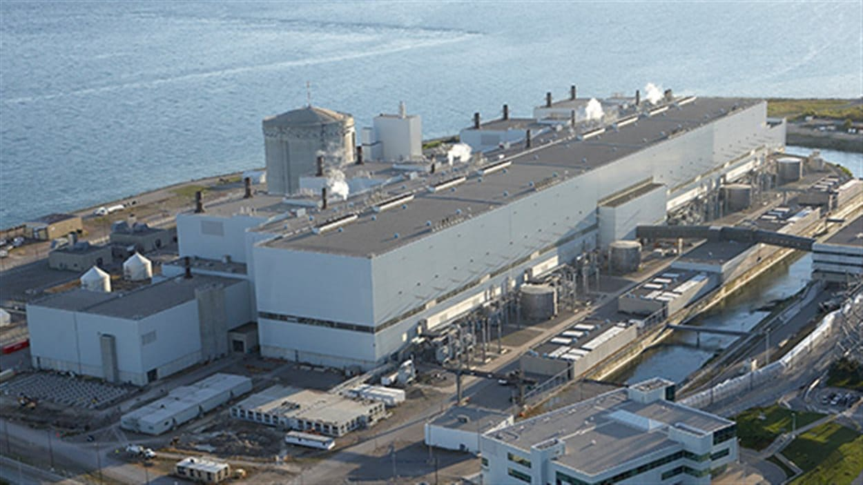 La centrale nucléaire Darlington, en Ontario