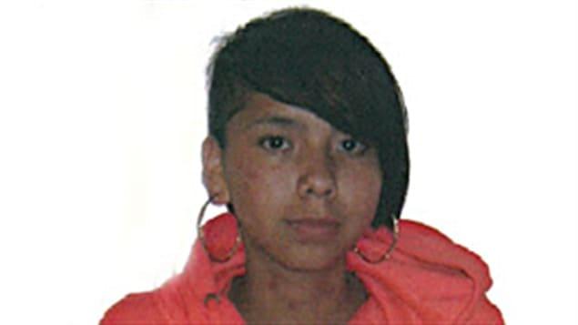 Tina Fontaine était portée disparue depuis le 9 août à Winnipeg.