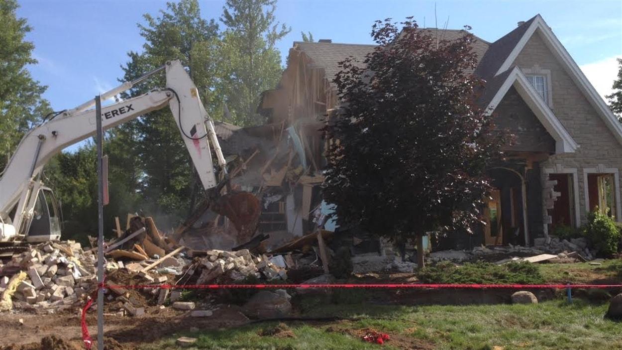 Cout de destruction d une maison prix demolition maison for Cout de demolition maison