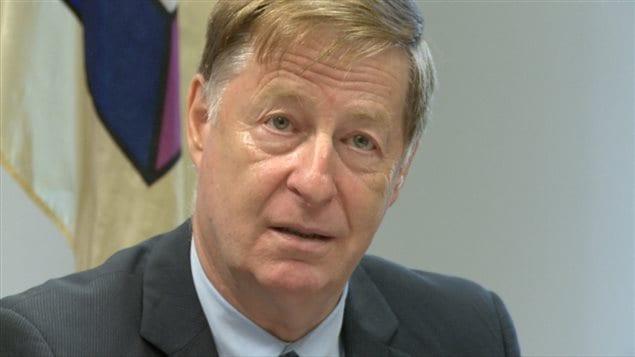 Marc Demers, maire de Laval.
