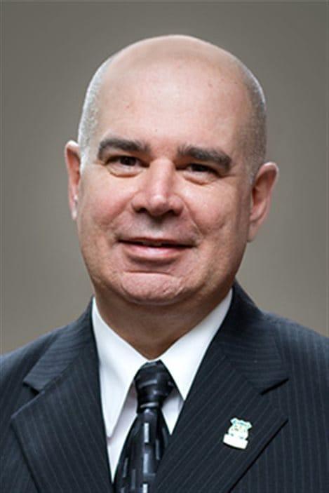 Paul Legault, président du syndicat des agents de protection de la faune du Québec