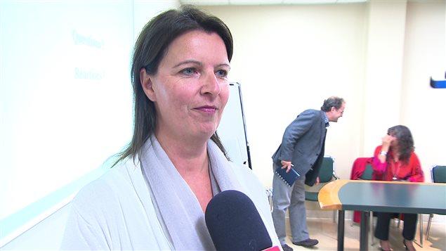 La directrice générale de l'OSE, Carole Lévesque