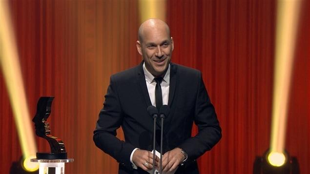 Martin Matte a remporté le prix du meilleur premier rôle masculin dans une comédie pour Les beaux malaises.