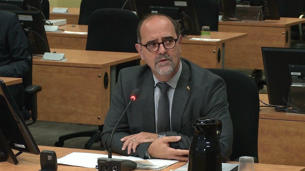Serge Lamontagne, DG de la Ville de Laval