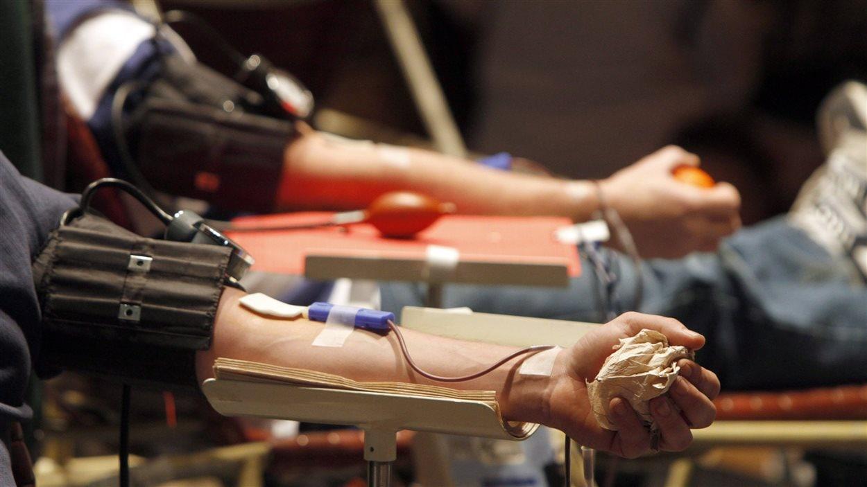 Des dons de sang
