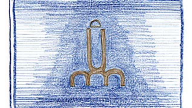 Le dessin de Denis Juneau à l'origine du logo de l'Université de Montréal