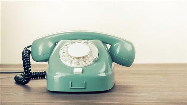Un téléphone ancien.