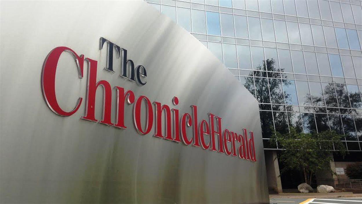 Les bureaux du Chronicle Herald à Halifax