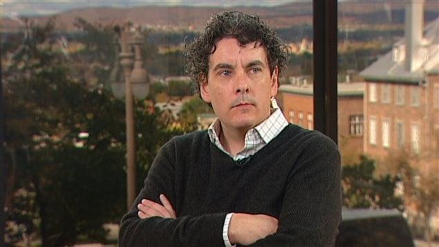 Philippe Cannon, porte-parole de l'entreprise TransCanada.