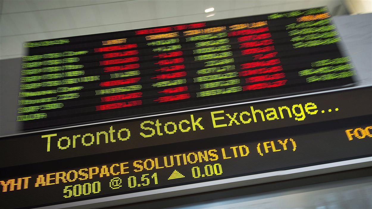 La Bourse de Toronto