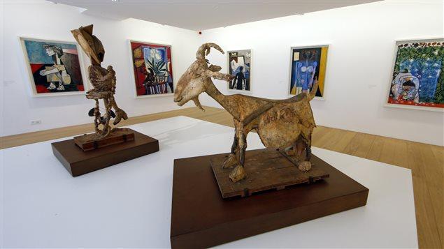 Des oeuvres du Musée Picasso à Paris