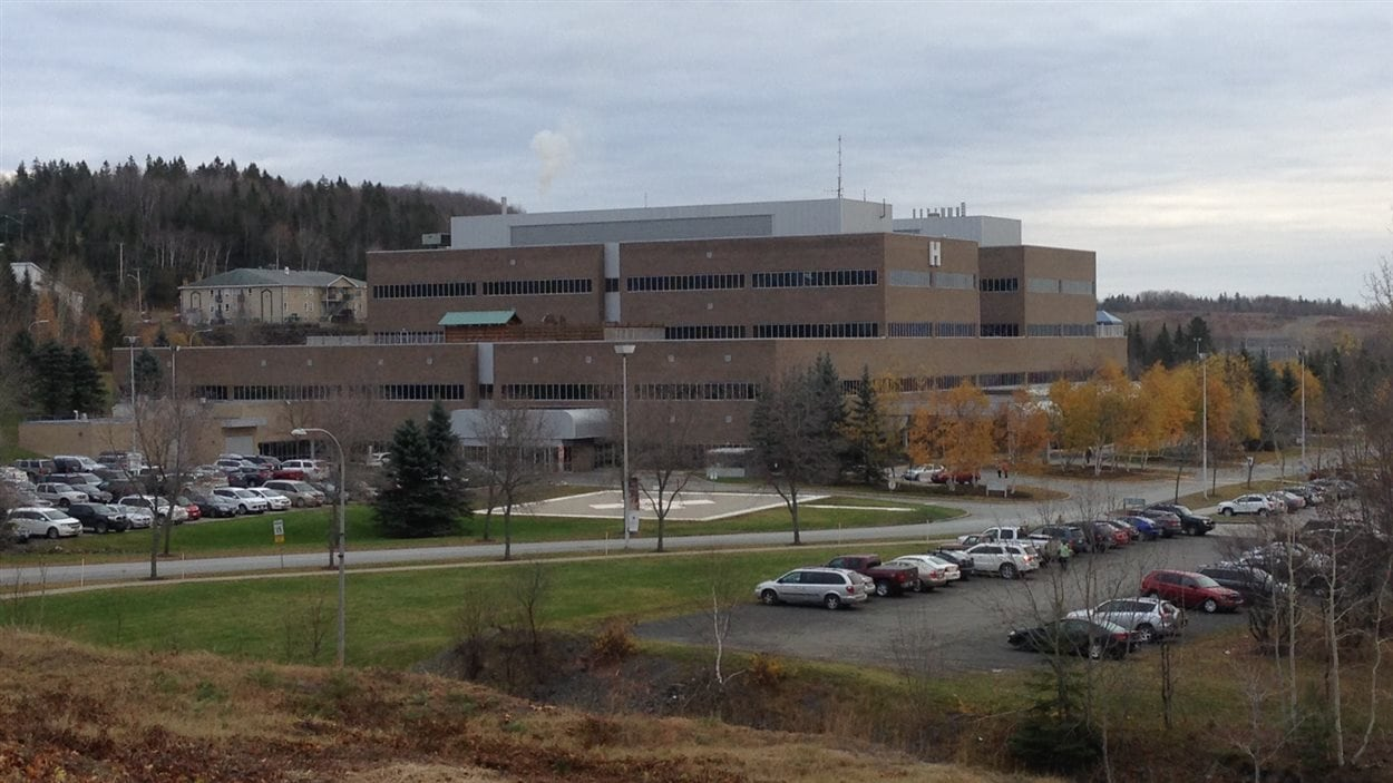 L'hôpital régional d'Edmundston