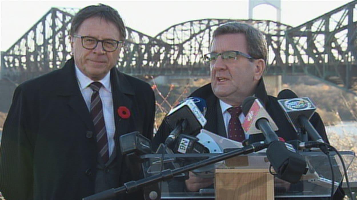 Les maire de Lévis et Québec demandent au CN de prendre ses responsabilités