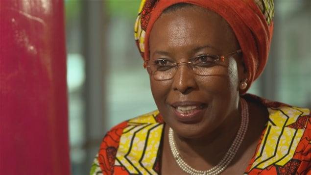Marguerite Barankiste fondatrice de la maison Shalom au Burundi