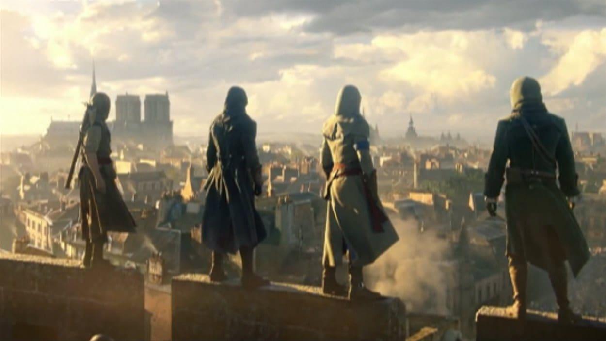 Extrait d'un jeu vidéo d'Ubisoft