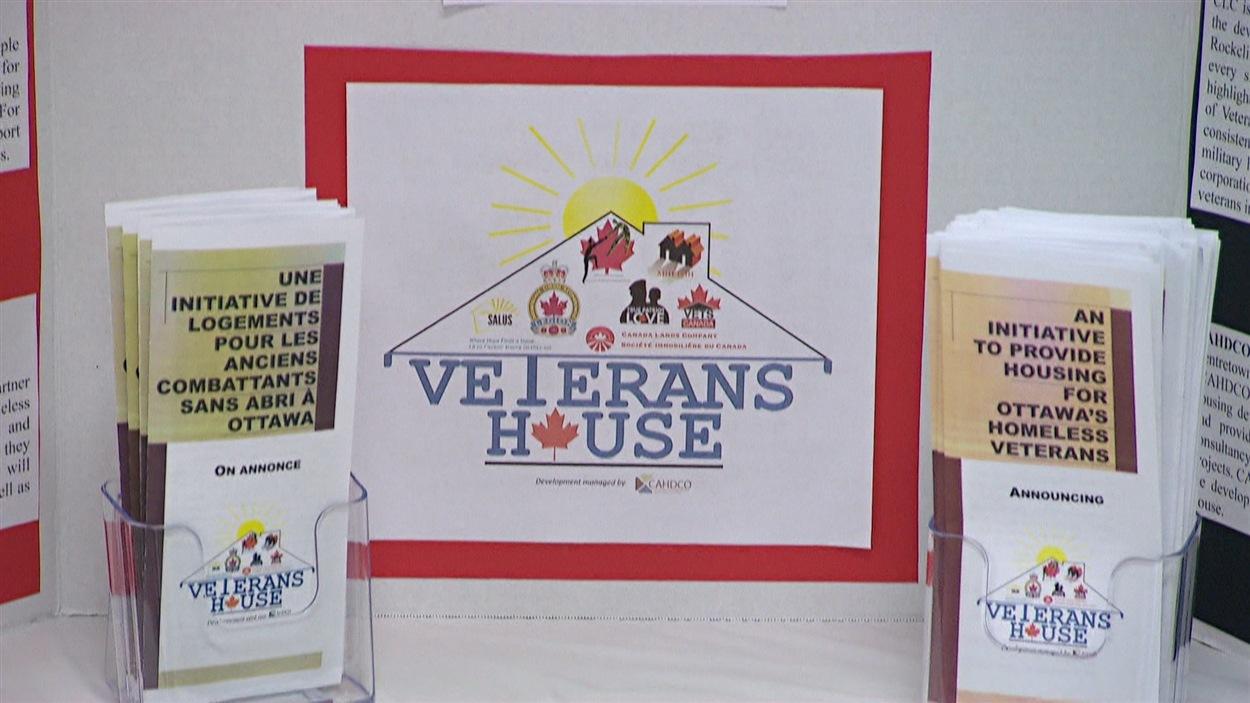 La Maison pour les anciens combattants (Veterans House) sera construite sur le site de l'ancienne base des Forces canadiennes Rockcliffe, à Ottawa.