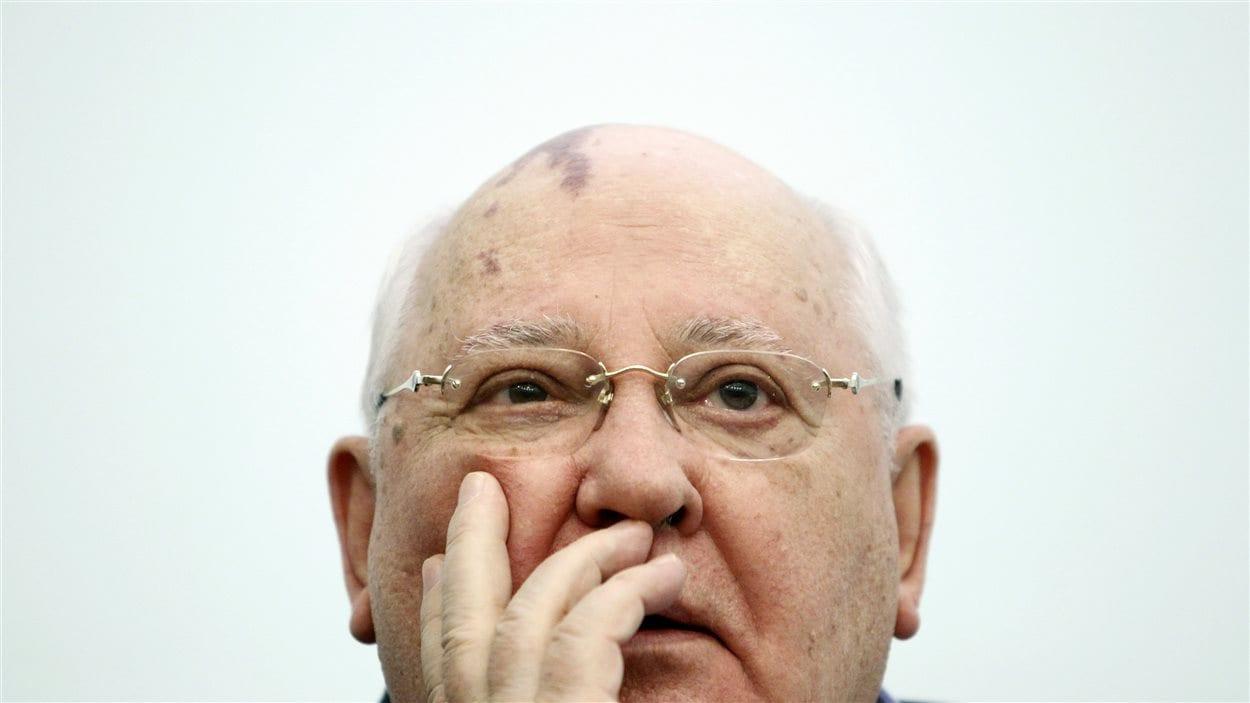 L'ex-président soviétique Mikhaïl Gorbatchev.