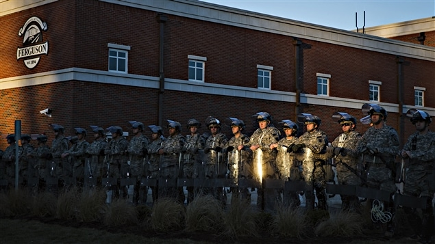 La Garde nationale à Ferguson