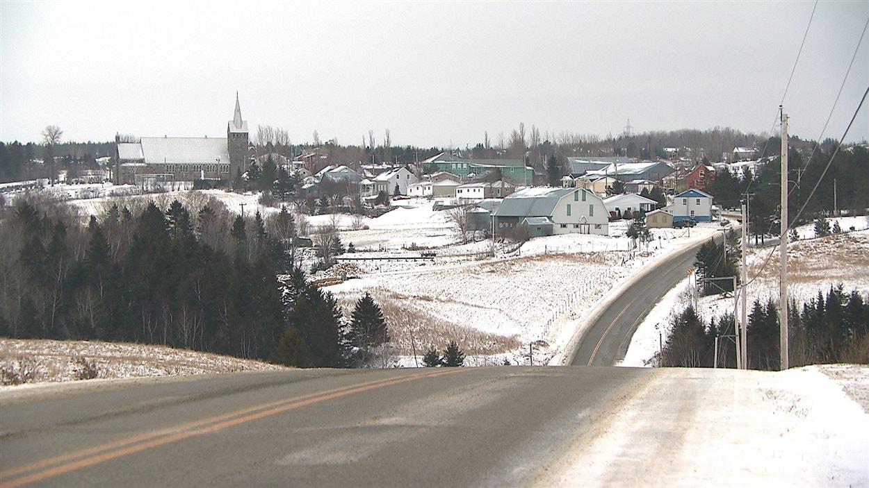 Le village de Saint-Valérien