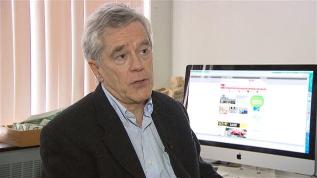 André Lareau, professeur de droit spécialisé en fiscalité, Université Laval