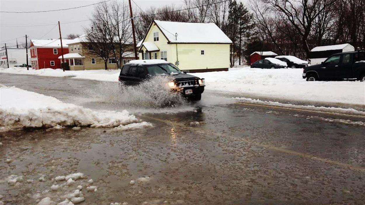 Inondation à Bathurst