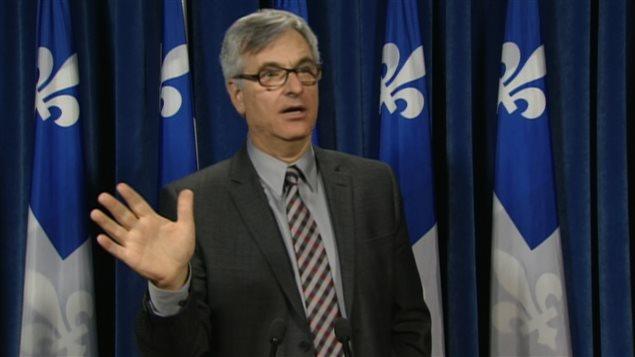 Le leader parlementaire du gouvernement, Jean-Marc Fournier