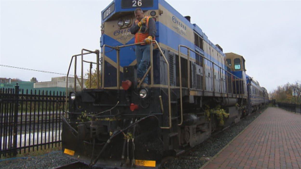 Le train touristique Orford Express