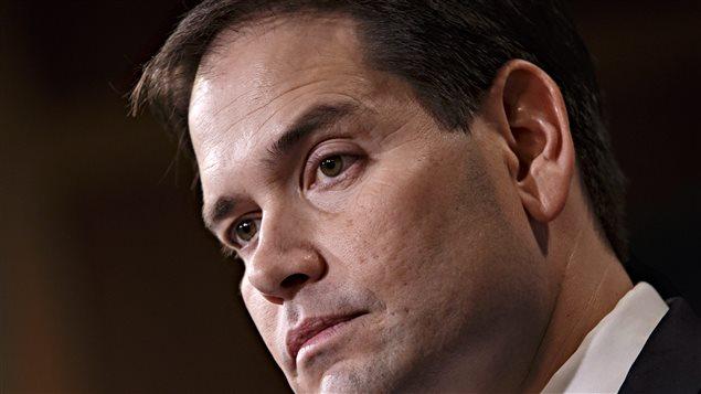 Le sénateur Marco Rubio, fils d'immigrants cubains aux États-Unis, s'oppose à l'initiative du président Obama de normaliser les relations avec La Havane.