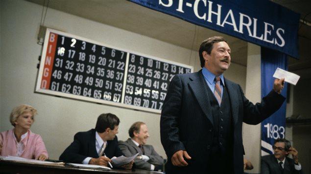 Le comédien Michel Daigle dans  Comment acheter son patron  en 1982