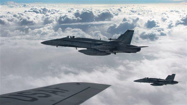 Six CF-18 canadiens ont effectué 230 sorties pour le compte de la coalition internationale, selon le ministère de la Défense.