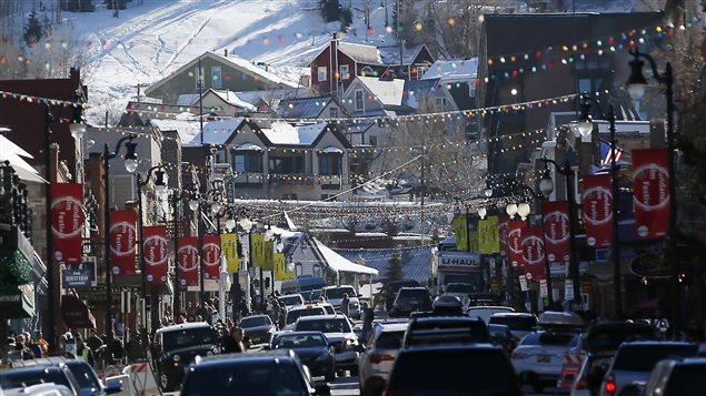 Park City, au Utah, où se tient le Festival du film de Sundance