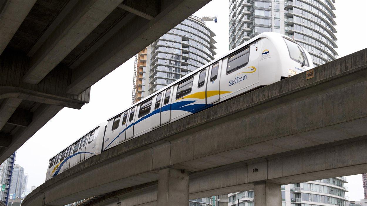 Skytrain à Vancouver