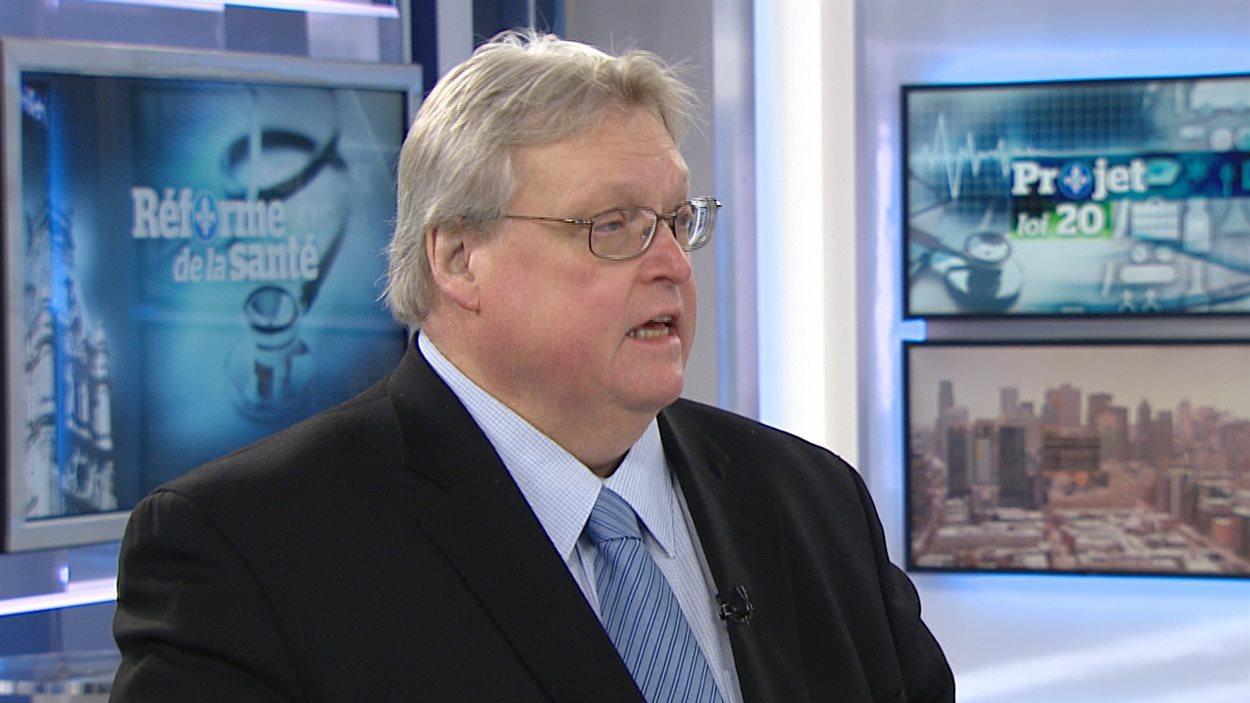 Le ministre de la Santé du Québec, Gaétan Barrette