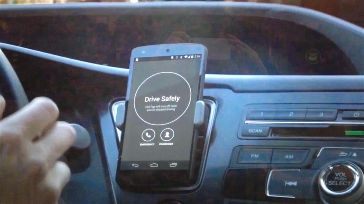 Une entreprise de Calgary a développé une application pour réduire les risques de distraction au volant.