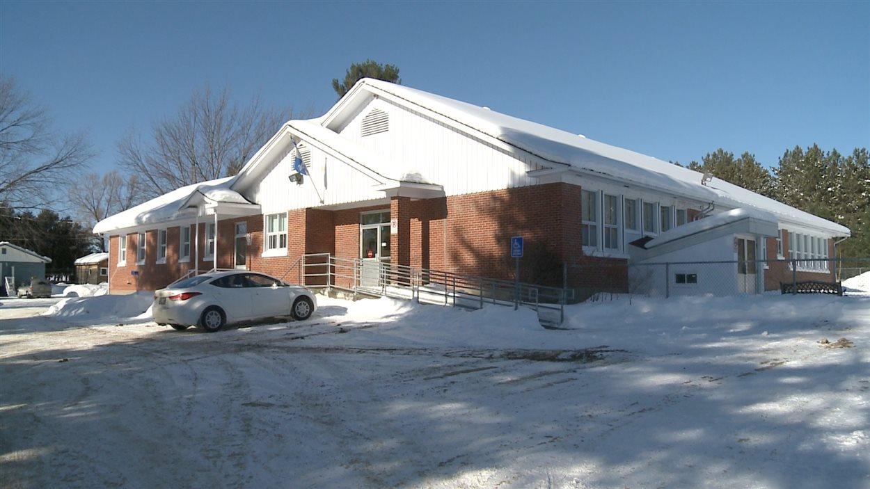 L'école primaire de Notre-Dame-de-Pontmain, qui compte une soixantaine d'élèves.