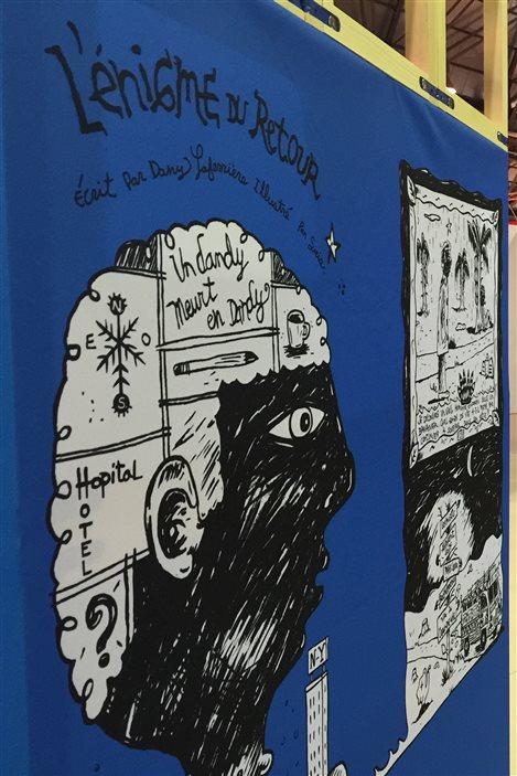 Le livre «L'énigme du retour» de Dany Laferrière vu par Siris