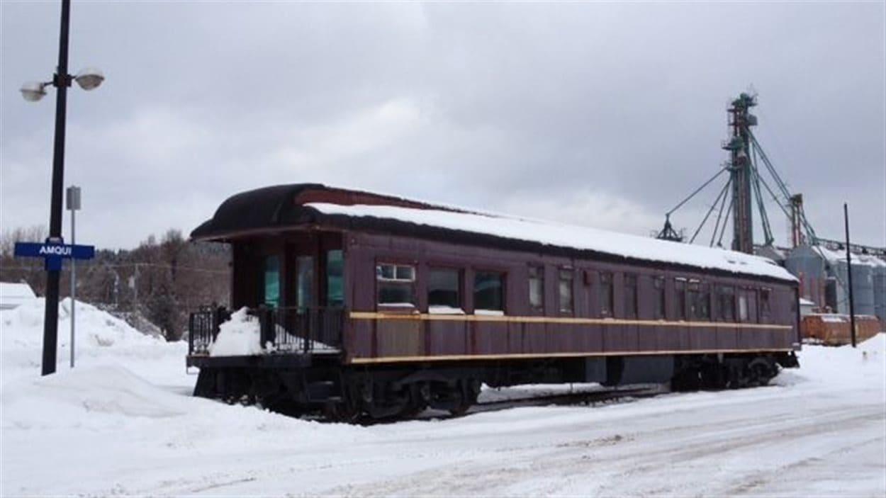Le wagon Lynnewood à Amqui